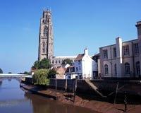 Iglesia del St Botolphs, Boston, Inglaterra. Fotografía de archivo