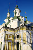 Iglesia del St. Catherine, Pärnu, Estonia imagenes de archivo