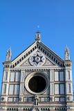 Iglesia del St. Croce en Florencia, Italia Foto de archivo libre de regalías