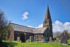 Iglesia del St Cubert ~ Cubert, Cornualles Foto de archivo libre de regalías