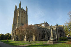 Iglesia del St Cuthbert, receptores de papel imágenes de archivo libres de regalías
