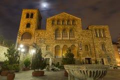 Iglesia del St. Demetrios por la tarde Foto de archivo