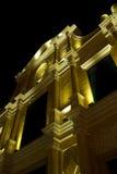 Iglesia del St. Dominic en Macau en la noche Fotografía de archivo libre de regalías
