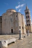 Iglesia del St. Donatus, Zadar, Croatia Foto de archivo