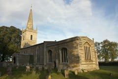 Iglesia del St Edmundo en Egleton Fotografía de archivo libre de regalías