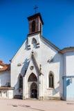 Iglesia del St Elisabeth en Banska Bystrica - Eslovaquia fotografía de archivo libre de regalías