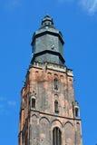 Iglesia del St Elizabeth en Wroclaw - Polonia fotos de archivo