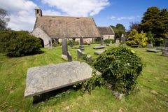 Iglesia del St Fillan, Aberdour, Fife foto de archivo