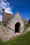 Iglesia del St Fillan, Aberdour, Fife fotos de archivo