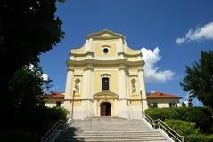 Iglesia del St Francis Xavier, Zagreb imágenes de archivo libres de regalías