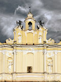 Iglesia del St Jonhs en madrugada. imagen de archivo