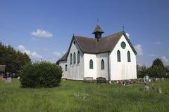 Iglesia del St Katherine/centro de la herencia, Canvey Island, Essex, E Imagenes de archivo