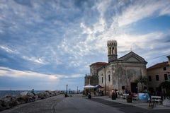 Iglesia del St Klementa Imágenes de archivo libres de regalías