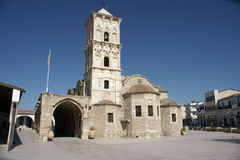 Iglesia del St lazarus en Chipre Imagen de archivo