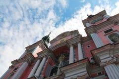Iglesia del St.Lipka, Polonia Imagen de archivo