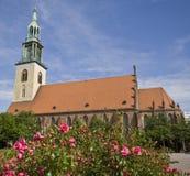 Iglesia del St. Maria en Berlín Fotografía de archivo