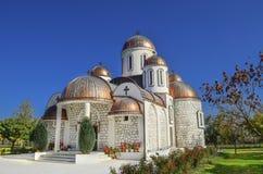 Iglesia del St Mary Orthodoh en Novaci, Macedonia Imagen de archivo