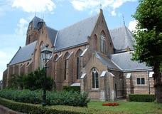 Iglesia del St. Michaels en los Países Bajos. Fotografía de archivo