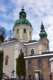 Iglesia del St Peter Abbey, Salzburg, Austria Fotografía de archivo libre de regalías