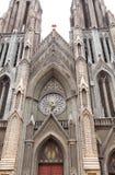 Iglesia del St. Philomena en Mysore Imagen de archivo libre de regalías