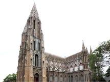 Iglesia del St. Philomena en Mysore Imagenes de archivo