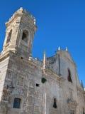 Iglesia del St. Salvador. Monopoli. Apulia. fotografía de archivo
