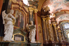 Iglesia del St Stanislaus (el obispo) - Poznán, Polonia Fotos de archivo
