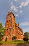 Iglesia del St Stanislaus (1521) en la ciudad de Swiecie, Polonia Foto de archivo libre de regalías