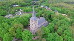 Iglesia del St Vitus en la montaña de Elten Fotos de archivo