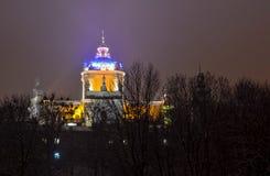 Iglesia del St Yura de Lwow Imágenes de archivo libres de regalías