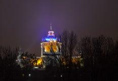 Iglesia del St Yura de Lwow Foto de archivo
