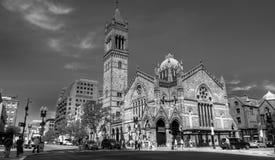Iglesia del sur vieja, Boston, mA fotografía de archivo libre de regalías
