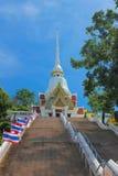 Iglesia del templo Khao Takiab Foto de archivo libre de regalías