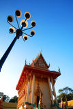Iglesia del templo tailandés Imágenes de archivo libres de regalías
