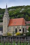 Iglesia del viñedo Fotografía de archivo libre de regalías