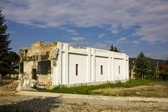 Iglesia demolida Foto de archivo libre de regalías