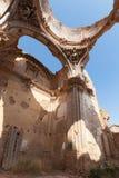 Iglesia destruida Fotos de archivo libres de regalías