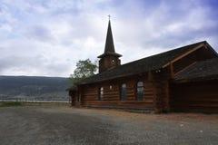 Iglesia dramática Imágenes de archivo libres de regalías