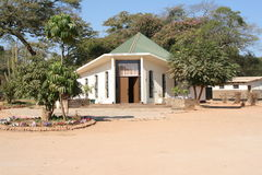 Iglesia en África Foto de archivo libre de regalías