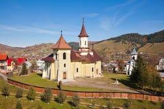 Iglesia en aldea del humor Fotos de archivo