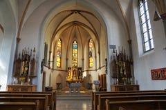 Iglesia en Alemania del sur Foto de archivo libre de regalías