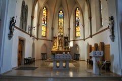 Iglesia en Alemania del sur Imagen de archivo libre de regalías