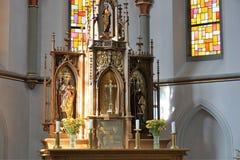 Iglesia en Alemania del sur Fotografía de archivo libre de regalías