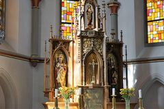 Iglesia en Alemania del sur Imagen de archivo
