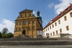 Iglesia en Amberg Foto de archivo
