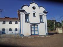 Iglesia en Barrão de Cocais foto de archivo libre de regalías