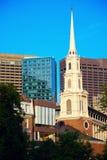 Iglesia en Boston fotos de archivo