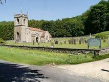 Iglesia en Brantingham, Yorkhsire Inglaterra Imagen de archivo libre de regalías