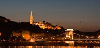 Iglesia en Budapest Foto de archivo