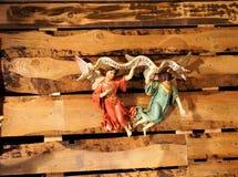 Iglesia en bulle en gruyere en Suiza del sur Fotos de archivo libres de regalías
